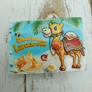 Other - NEW Lanzarote Spain Europe Camel Fridge Magnet